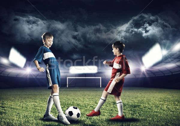 Football game Stock photo © adam121