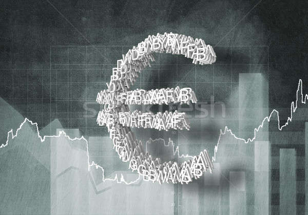 Euro currency rate Stock photo © adam121