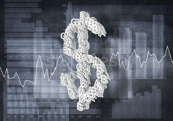 Dollar currency rate Stock photo © adam121