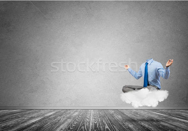 Businessman without head Stock photo © adam121