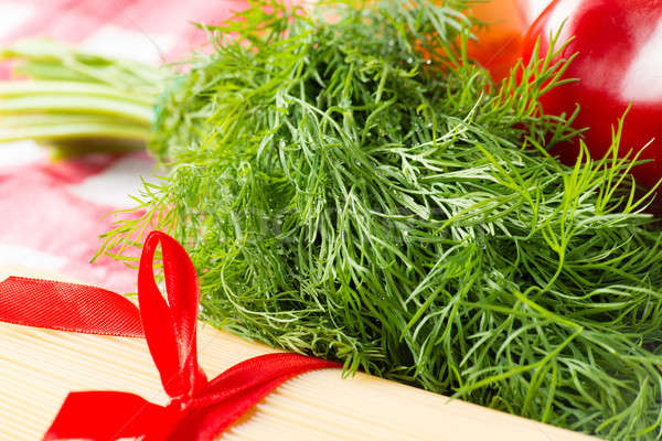 close-up of dill leaves Stock photo © adam121