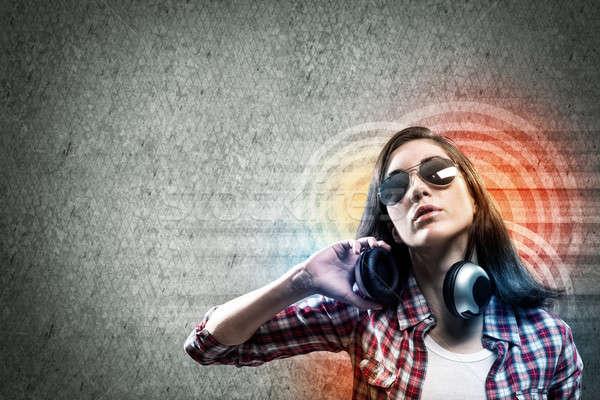 Music lover Stock photo © adam121