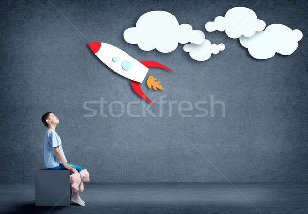 Childish dreams Stock photo © adam121