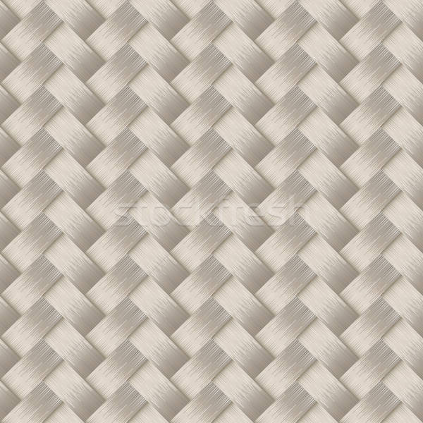 Small woven white cane fiber seamless pattern Stock photo © adamfaheydesigns