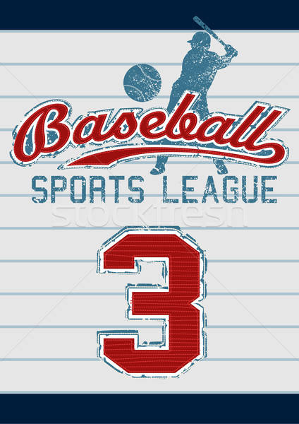 Baseball sports league Stock photo © adamfaheydesigns