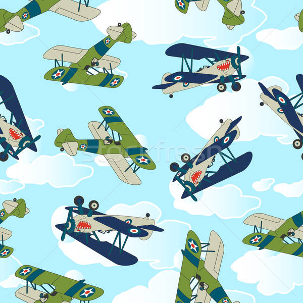 Vintage allied plane flying. Stock photo © adamfaheydesigns