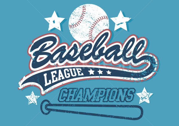 Baseball league champions Stock photo © adamfaheydesigns