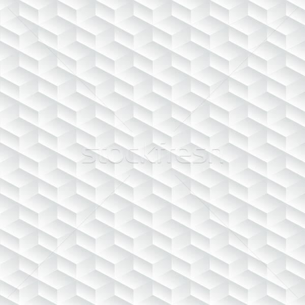 White diagonal embossed abstract seamless pattern Stock photo © adamfaheydesigns
