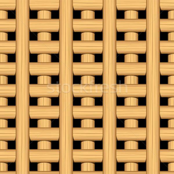 тростник плетеный бамбук тропические текстильной Сток-фото © adamfaheydesigns