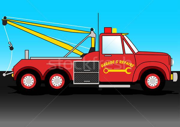 Truck Stock photo © adamfaheydesigns