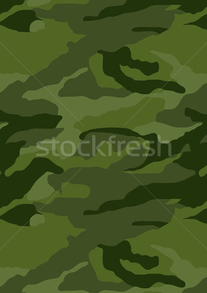 Khaki forest camouflage repeat pattern background Stock photo © adamfaheydesigns