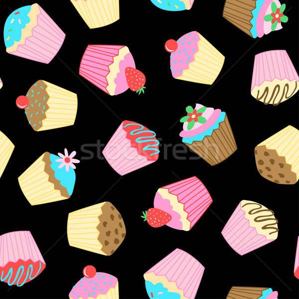 Cup cakes. Stock photo © adamfaheydesigns