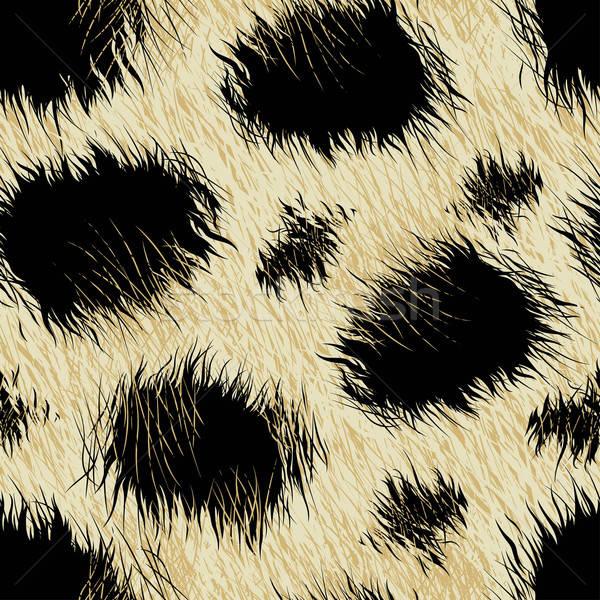 Leopárd foltok szőr végtelen minta háttér Afrika Stock fotó © adamfaheydesigns