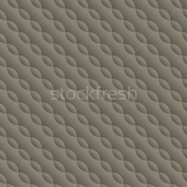 Curved embossed twisted seamless pattern Stock photo © adamfaheydesigns