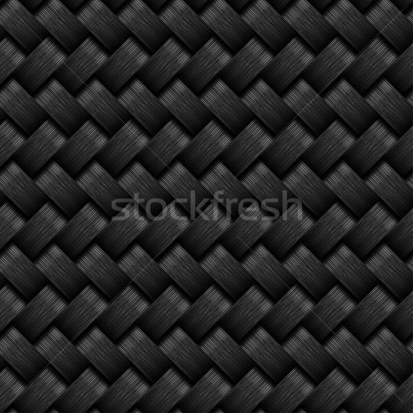carbon fiber seamless pattern Stock photo © adamfaheydesigns