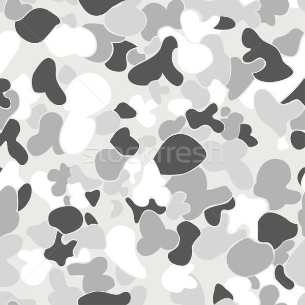 Auscam snow seamless pattern Stock photo © adamfaheydesigns