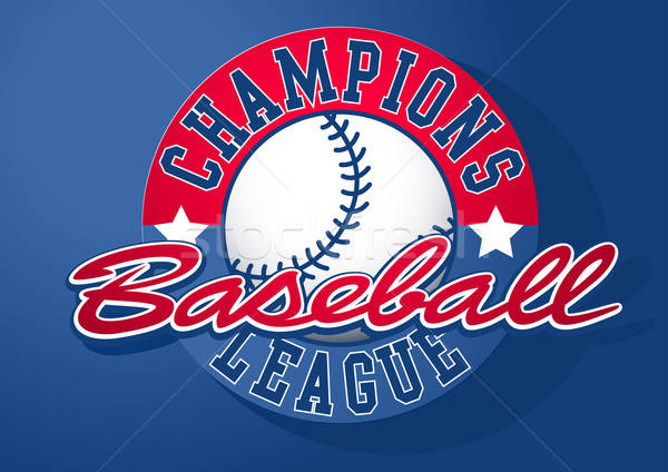 Baseball Champions league with ball Stock photo © adamfaheydesigns