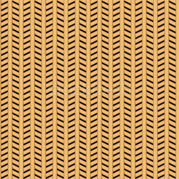 Cane wicker parquet seamless pattern Stock photo © adamfaheydesigns