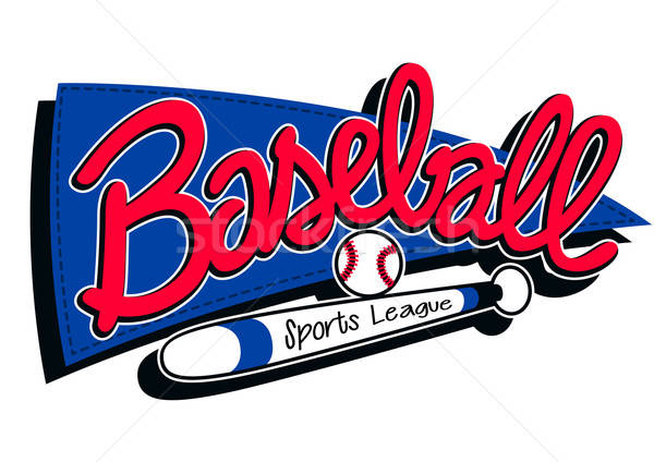 Baseball sports league childrens banner background Stock photo © adamfaheydesigns