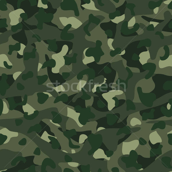 Green mountain disruptive camouflage  seamless pattern Stock photo © adamfaheydesigns