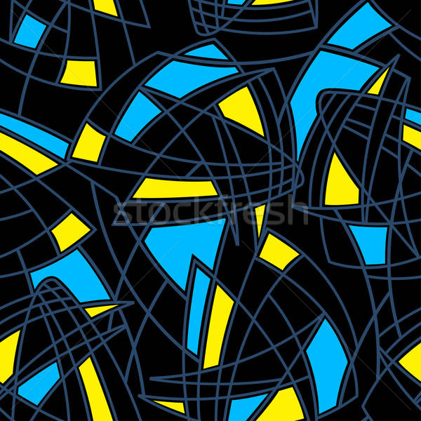 Abstract shapes 1 seamless pattern Stock photo © adamfaheydesigns