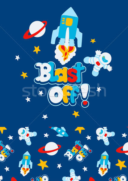 Blast off Stock photo © adamfaheydesigns
