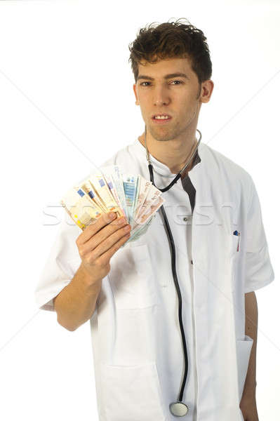 Dinero médico billetes médicos Foto stock © advanbrunschot