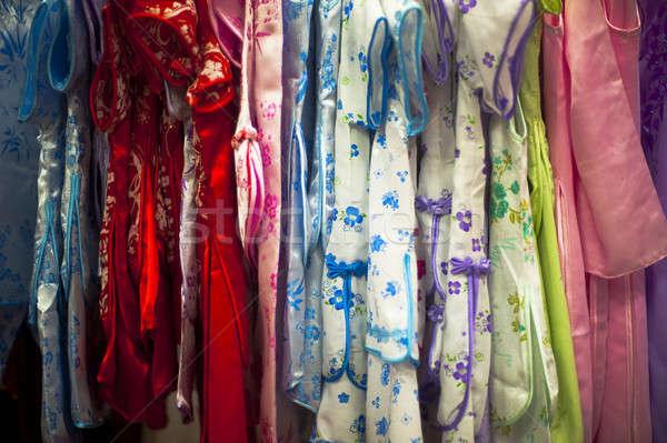 Chino ropa tradicional tienda tienda Foto stock © advanbrunschot