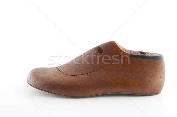 Zapato modelo aislado blanco Foto stock © advanbrunschot