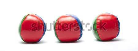 juggle balls Stock photo © advanbrunschot