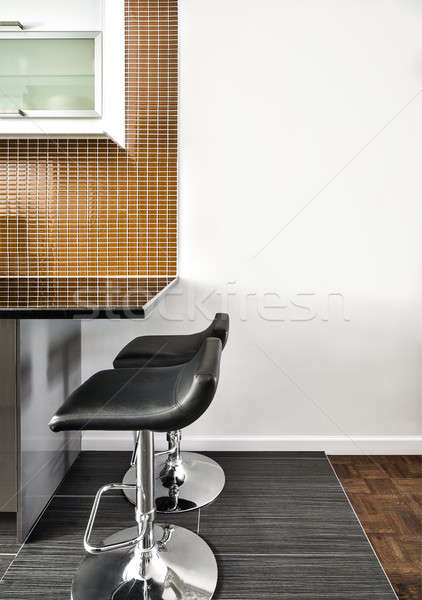 современных интерьер комнату красивой борьбе стены Сток-фото © aetb