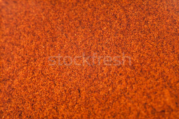 Red Spicy Pepper Powder texture Stock photo © aetb