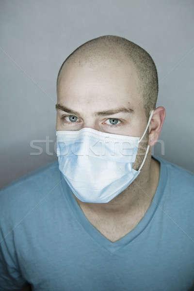 Doktor hasta bakıyor Stok fotoğraf © aetb