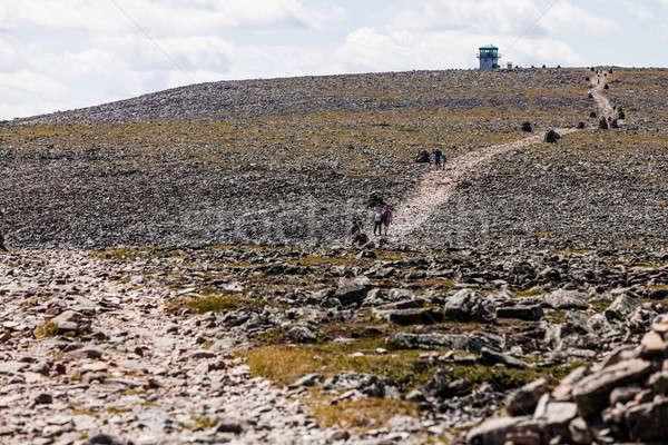 походов пути весны трава пейзаж путешествия Сток-фото © aetb