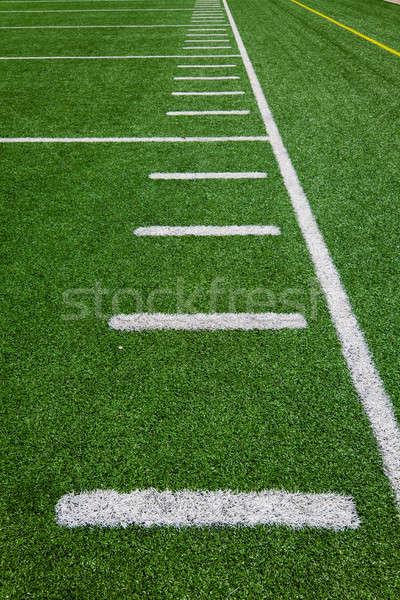 Football - Side Lines  Stock photo © aetb