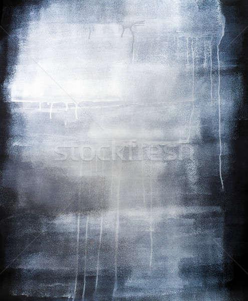 高い 芸術的 青 描いた テクスチャ ストックフォト © aetb