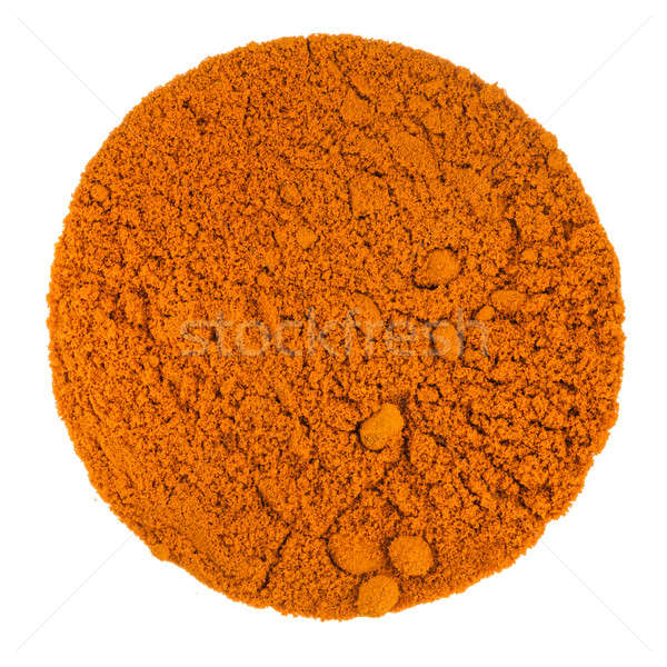 Turmeric Powder Macro Texture Stock photo © aetb
