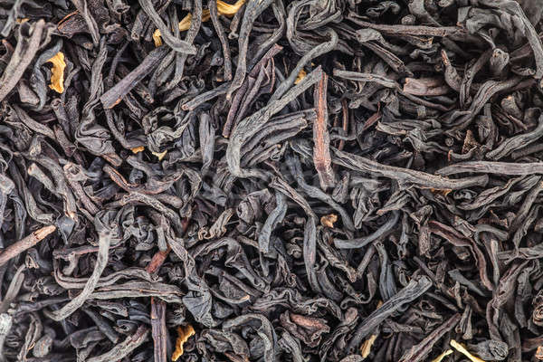 Extrême thé laisse macro Photo stock © aetb