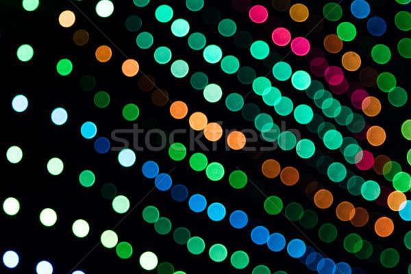 Lumières panneau coloré musique texture Photo stock © aetb
