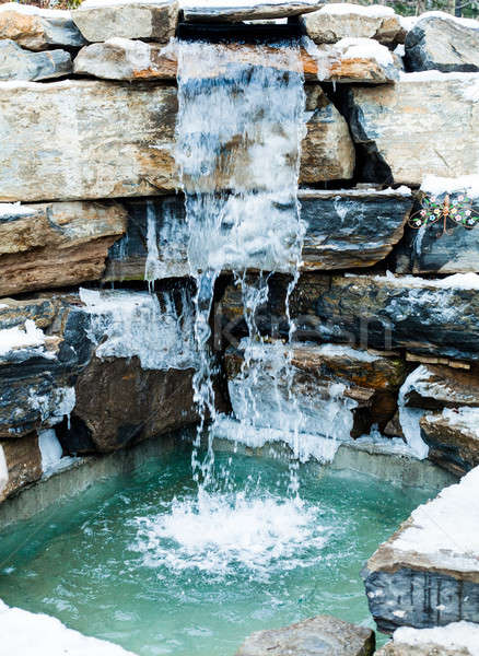 Nordic Outdoor  Cold Water cascade Stock photo © aetb