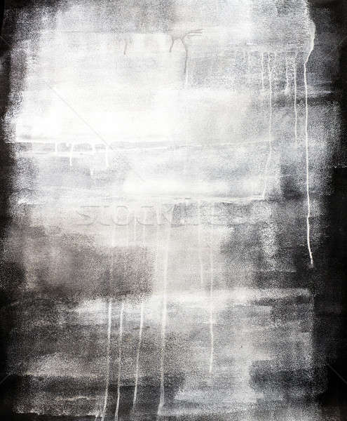 Artistic Gray Painted Texture Background on Canvas Stock photo © aetb
