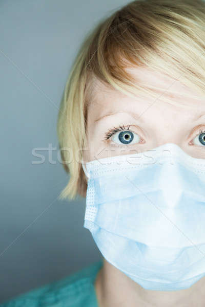 Nurse looking at you  Stock photo © aetb