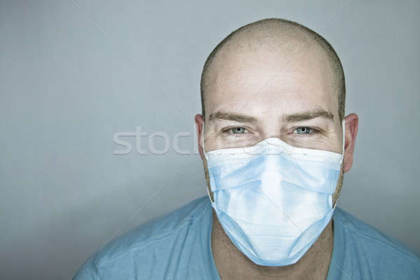 Felice medico paziente sorridere occhi Foto d'archivio © aetb