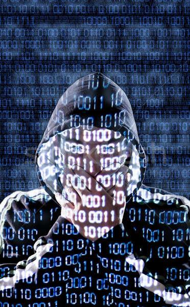 Censored hacker Stock photo © aetb