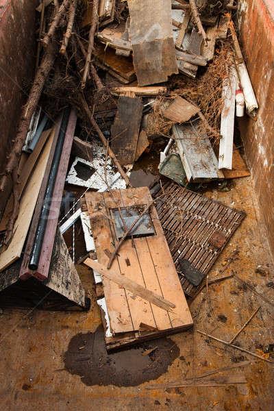 Pile of garbage Stock photo © aetb