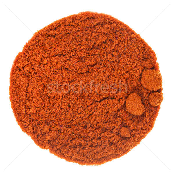 Red Spicy BBQ Powder texture Stock photo © aetb