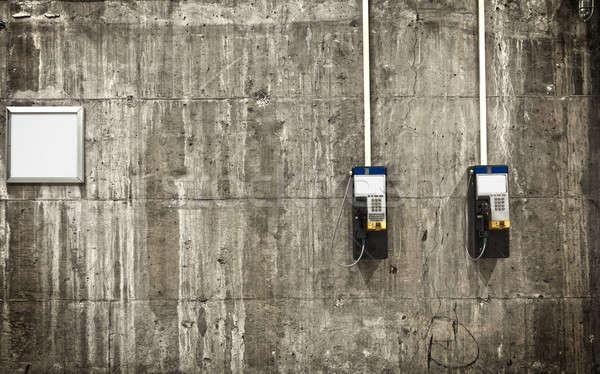 Public phones  Stock photo © aetb
