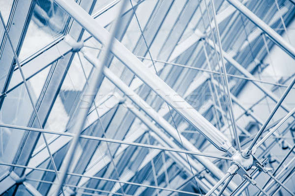 Modern Architectural Skylight Structure Details Stock photo © aetb