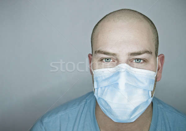 医師 患者 電気 青い目 ストックフォト © aetb