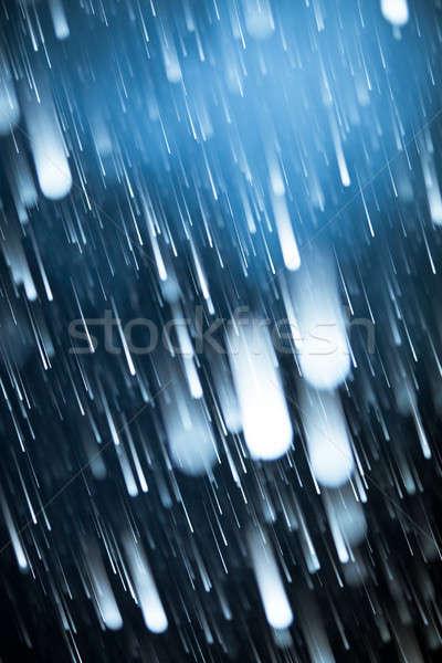 Asteroid Rain Stock photo © aetb